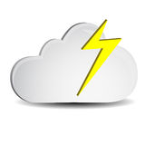 Cloud and Lighting Royalty Free Stock Photography
