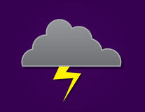 Cloud Lightning Stock Image