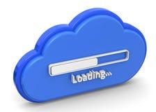 Cloud Loading Royalty Free Stock Photos