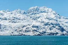 cloud lodowca bay gór nad ocean park narodowy Zdjęcie Royalty Free