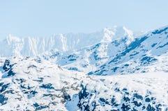 cloud lodowca bay gór nad ocean park narodowy Obrazy Royalty Free