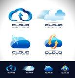 Cloud Logo Design royalty free illustration