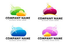 Cloud Logo Royalty Free Stock Image
