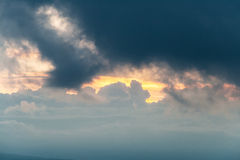 Cloud Looking like a Rabbit Stock Photography