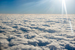 Cloud. A lot of cloud in the sky Stock Photography