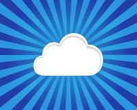cloud meddelande resurser för begreppet för datoren beräknande lokaliserade bärbar dator Fotografering för Bildbyråer