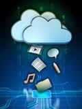 Cloud media Stock Photo