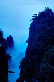 The cloud and mist of Sanqingshan mountain Royalty Free Stock Photography