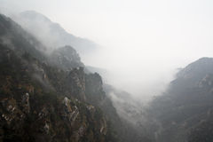 Cloud and mist in valley Royalty Free Stock Photography