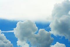 Cloud modification before raining stock photography
