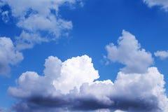 Cloud modification before raining stock image