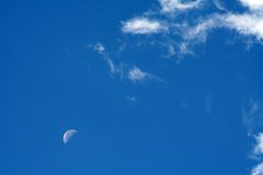 Cloud Moon 4 Royalty Free Stock Images