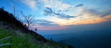 Cloud morning Mountain Stock Photography