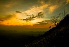 Cloud morning Mountain Royalty Free Stock Photos