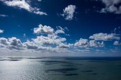 cloud morza Zdjęcia Royalty Free
