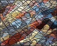 Cloud mosaic stock photos