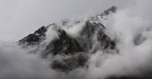 Cloud Mountain Royalty Free Stock Photography