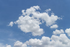 Cloud n Sky. Cloud and Sky in blue color Royalty Free Stock Photography