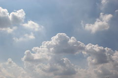 Cloud. The cloud are natural phenomenon beautiful Royalty Free Stock Images