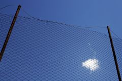 Cloud in the net Stock Photography