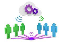 Cloud Network Stock Photography