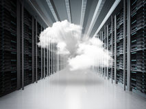 Cloud network concept Stock Photos