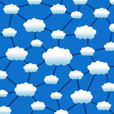 Cloud network Royalty Free Stock Photo