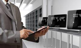 Cloud network server concept Stock Photos