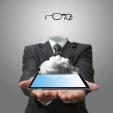 Cloud network server concept Royalty Free Stock Photography
