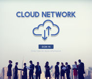 Cloud Network Storage Data Information Technology Concept. Cloud Network Storage Data Information Technology royalty free stock photo