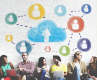 Cloud Networking Communication Connection Concept Royalty Free Stock Image