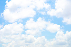 Cloud with nice blue sky,Nature background Stock Images