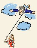 On Cloud Nine Royalty Free Stock Photos