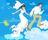 On cloud nine Stock Photography