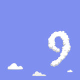 On Cloud Nine again illustration Stock Photo