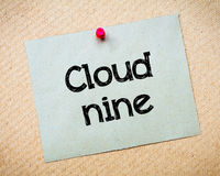 Cloud Nine Royalty Free Stock Photos