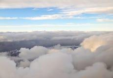 Cloud ocean royalty free stock photos
