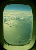 cloud oceanu Zdjęcia Royalty Free