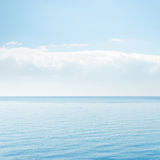 Cloud over blue sea Royalty Free Stock Photos