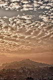 Cloud over Kathmandu Stock Photography