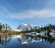 Cloud over Mount Shuksan Stock Photos