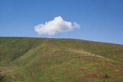 Cloud over the mountain. Stock Photos