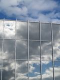 Cloud over Reflection Stock Images