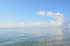 The cloud over the sea Stock Image