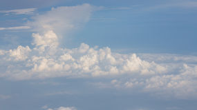 Cloud over the sky Royalty Free Stock Photo
