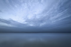 Cloud over water Stock Image