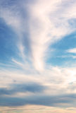 Cloud pattern Stock Image