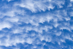 Cloud pattern Stock Image