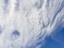 Cloud Pattern with Hole Royalty Free Stock Photo