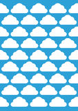 Cloud pattern Royalty Free Stock Photos